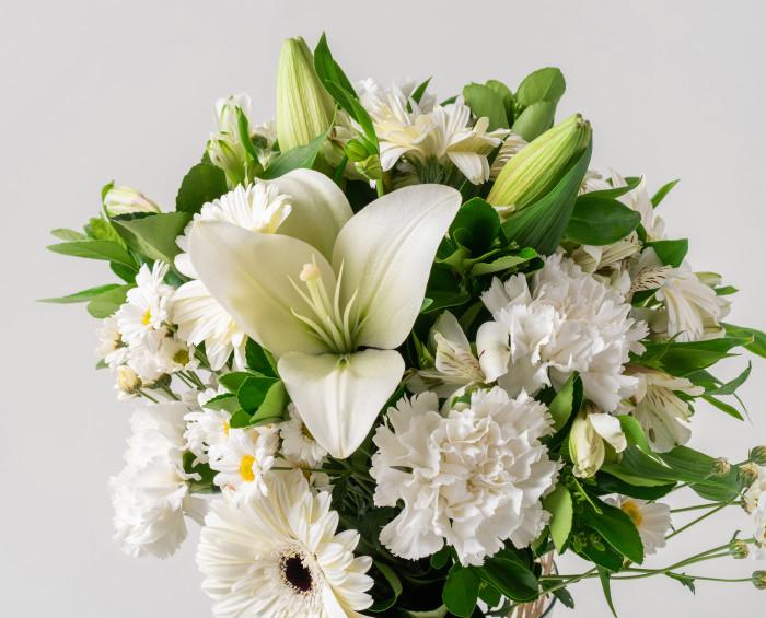 Ramalhete de Flores do Campo Brancas